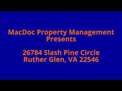 26784 Slash Pine Circle, Ruther Glen, VA 22546