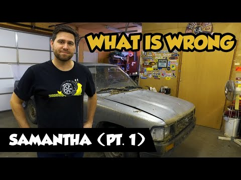2wd To 4wd Toyota Off-road Pickup (Samantha Pt. 1)