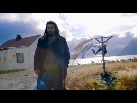 Aquaman shooting JUSTICE LEAGUE (2017) | Featurette