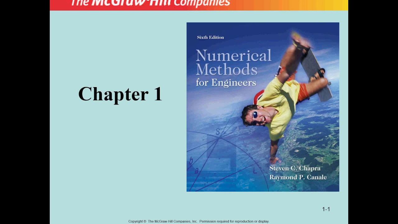 Numerical Methods For Engineers Chapter 1 Lecture 1 By Dr M Umair Youtube