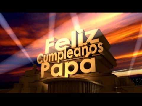 Feliz Cumplea�os Pap�