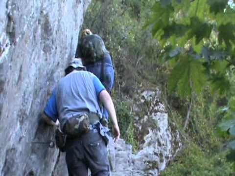 Klettersteig Nochern : Klettersteig boppard youtube