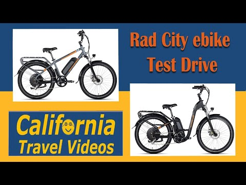 Rad Power City EBike Test Drive