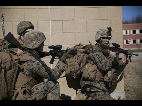 Marine's Urban Warfare Training at Quantico, Virginia