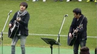 2012.1.22 松田直樹メモリアルゲーム@日産スタジアム マツに捧げる1曲...