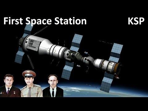 Space Race KSP - Salyut 1 and Soyuz 11 - Breaking Ground