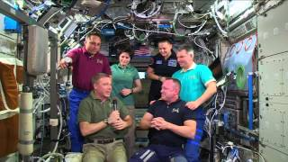 Change of Command on the ISS