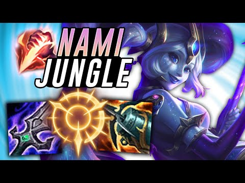 AD NAMI JUNGLE IS STRONGER THAN YOU THINK! Off Meta Monday - League of Legends