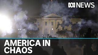 United States descends into chaos as clashes between protesters and police escalate | ABC News