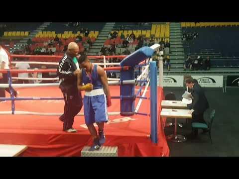 Livai Filimaea vs Miracle Ki ..NZ Nationals 91kgs Junior finals (rematch)