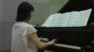 試し撮りでショパンの幻想即興曲を弾いてみました。 30分ほどの練習後、...