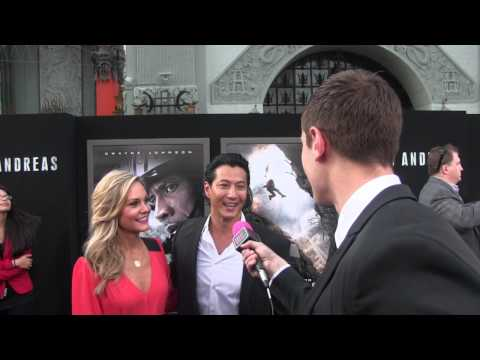 Will Yun Lee @ San Andreas Movie Premiere | Black Hollywood Live