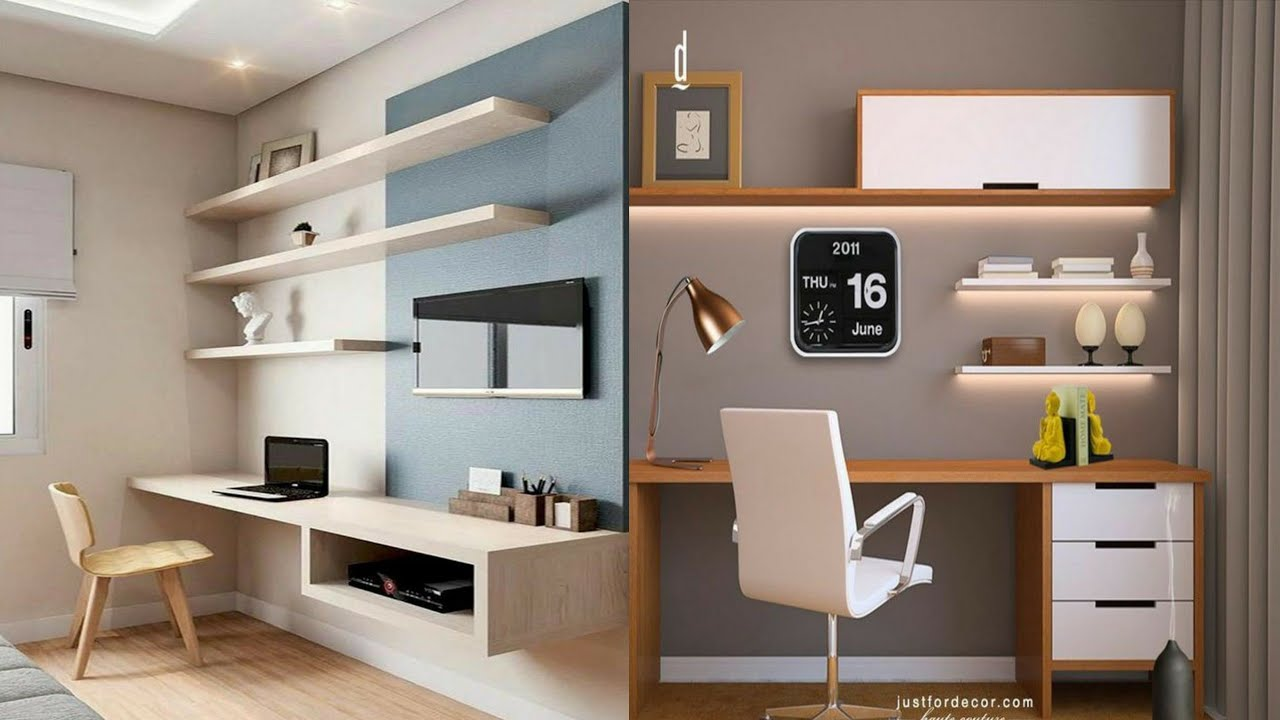 +20 Home workspace ideas   Small home office design 20