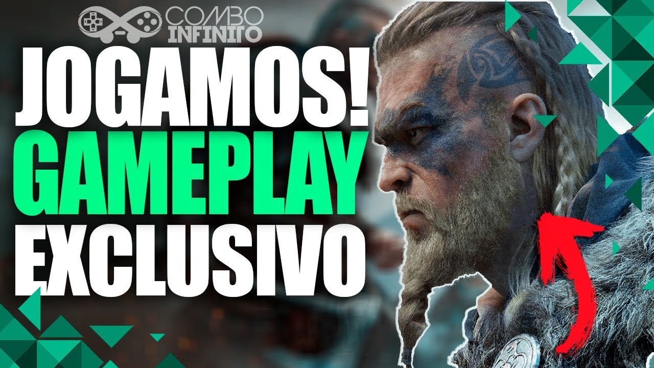 AC VALHALLA: GAMEPLAY EXCLUSIVO E PRIMEIRAS IMPRESSÕES
