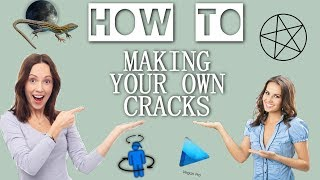 「how to」 making your own (bts) cracks