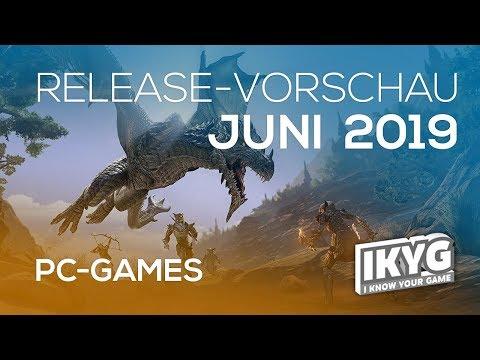 Games-Release-Vorschau - Juni 2019 - PC