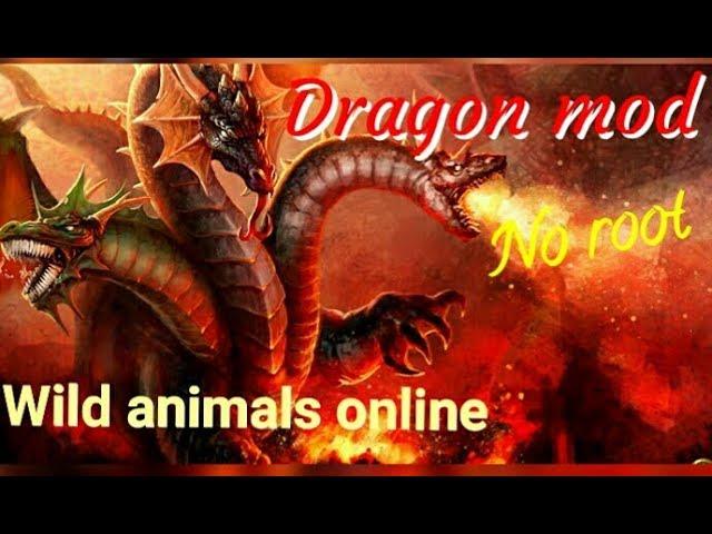 |Dragon mod| wild animals online (link) no root #1