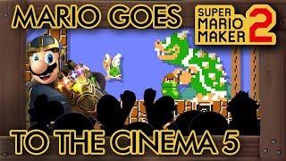 Super Mario Maker 2 - Mario Goes to the Cinema 5: ENDGAME