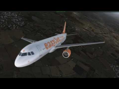 P3Dv3.3.5 | Standsted to Malaga | EasyJet A319