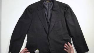 Measuring A Suit Jacket for Ebay