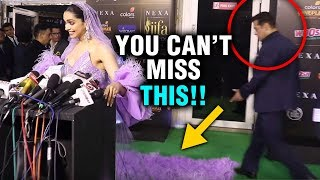 IIFA 2019 | Salman Khan's PRICELESS Expression Seeing Deepika Padukone's Dress