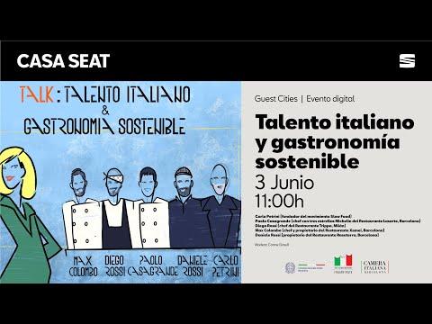 Talento italiano y gastronomía sostenible | CASA SEAT