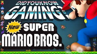 New Super Mario Bros - Did You Know Gaming? Feat. Beta64