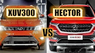 MAHINDRA XUV300 VS MG HECTOR - FULL COMPARISON