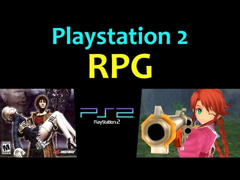 10 Awesome PS2 RPG Games 😍 Video 1 ... (Gameplay)