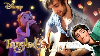 Disney's Tangled 'I See The Light' Acoustic Guitar Fingerstyle Cover