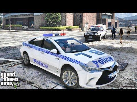 GTA 5 MOD LSPDFR 724 - AUSTRALIA PATROL !! (GTA 5 REAL LIFE PC MOD)