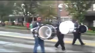 Maia Marching Bulldogs @ University of Cincinnati Homecoming Parade 2013 Thumbnail