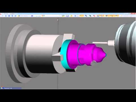 Mazak machine part creation with Waveform