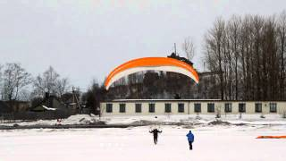 Обучение полетам на мотопараплане / Paramotor Lessons.