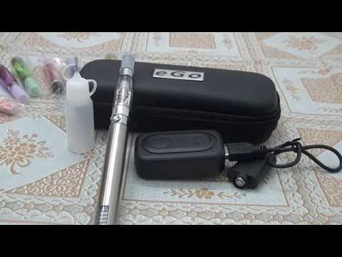 Electronic Cigarette CE4 Atomizer Ego V LCD Screen Ego twist Battery In Stainless Steel