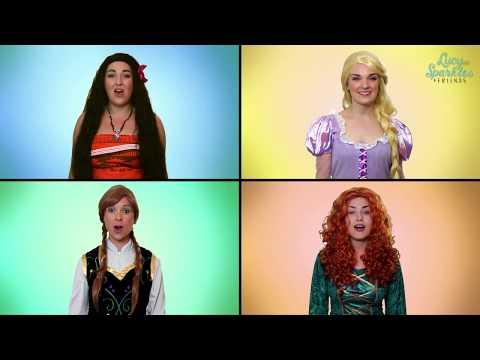 How Far I'll Go (Moana) Acapella by Disney Princesses