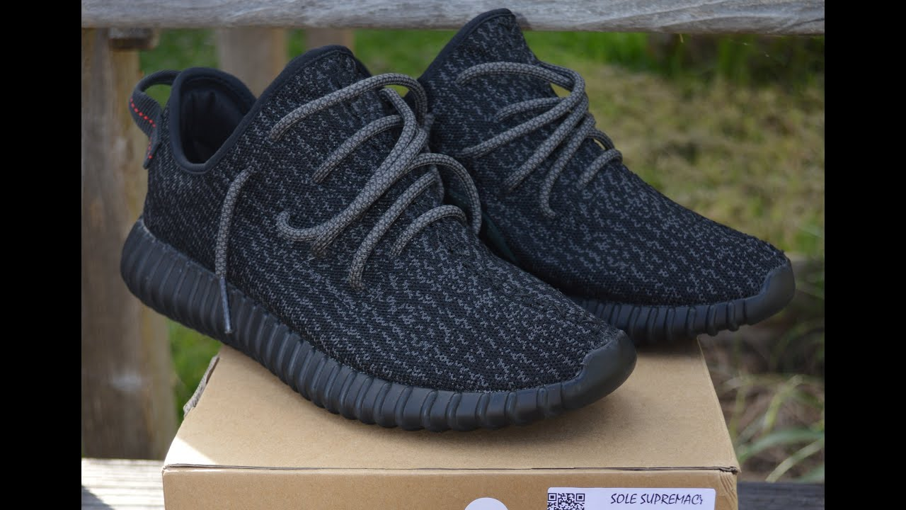 c9f7e1da402 Unboxing Pirate Black Yeezy Boost 350 from Sole Supremacy!!! - YouTube