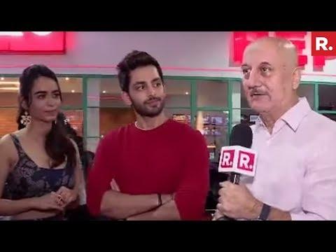Republic TV With Anupam Kher & Ranchi Diaries Stars