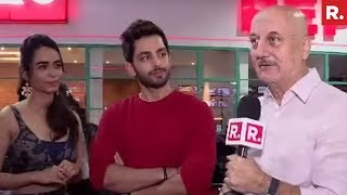 Republic TV With Anupam Kher & Ranchi Diaries Stars