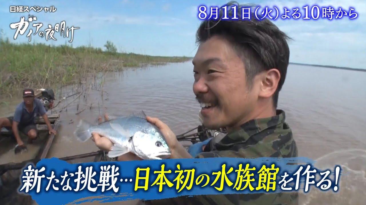 ガイアの夜明け【新たな挑戦…日本初の水族館を作る!】