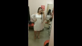PLUS SIZE TRY ON IN THE TARGET DRESSING ROOM!