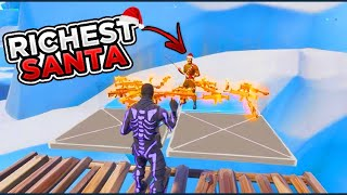 Richest Santa Claus Scammer Gets Scammed For Whole Inventory! In Fortnite Save The World