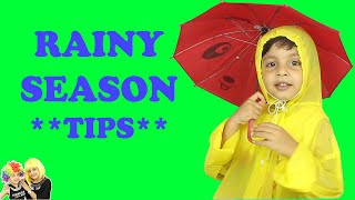 HOW TO KEEP CHILDREN SAFE IN RAINY SEASON | Safety Video for #Kindergarten | Aayu and pihu show
