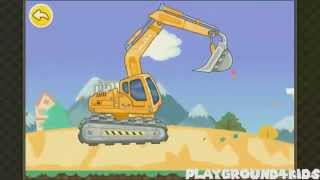 Excavator, Front Loader, Crane Truck, Dump Truck   22 mins Kids Tractor Video Compilation Gameplay