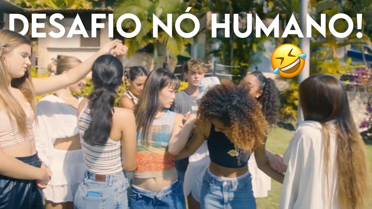 Now United Em: Desafio Do Nó Humano! (LEGENDADO PT-BR)