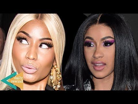 Nicki Minaj TROLLS Cardi B Over Breakup With Offset! Cardi Shares 1st Photo Of Baby Kulture! | DR
