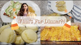 WHAT'S FOR DINNER!? | DINNER MEAL IDEAS | EASY MEALS
