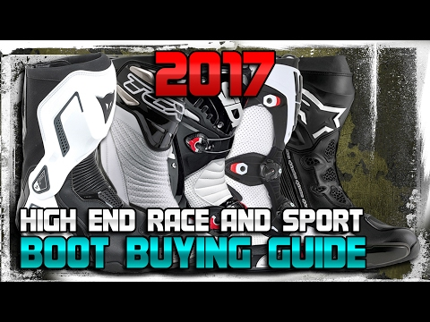 2017 High End Race and Sport Boot Buying Guide from Sportbiketrackgear.com
