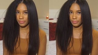 Video WOWAFRICAN: Styling Most Natural Lace Wig Ever! (Italian Yaki) download MP3, 3GP, MP4, WEBM, AVI, FLV Maret 2018