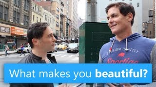 We walked around the streets of New York and asked people,